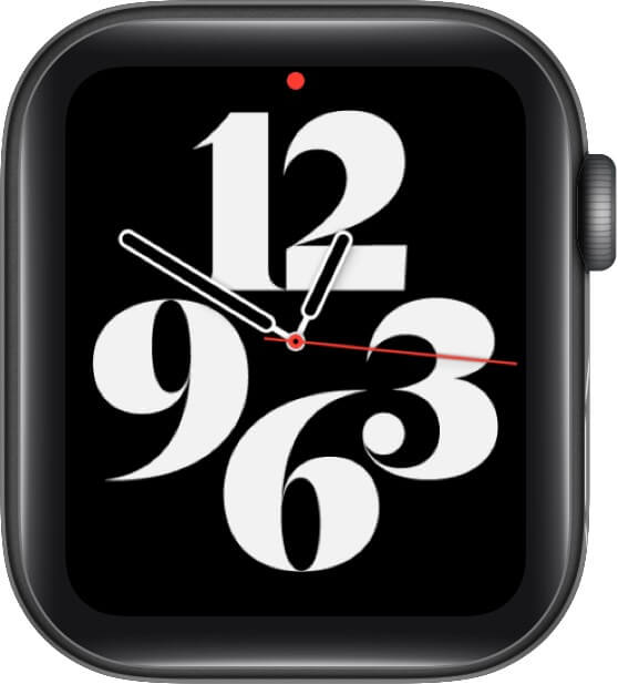Typograph Watch Face