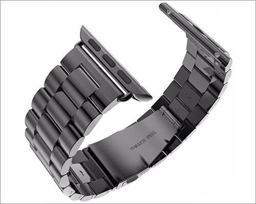 U191U Apple Watch Series 3 Stainless Steel Band