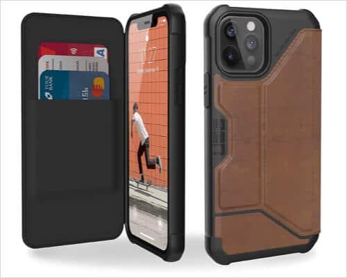 UAG Rugged Folio Case for iPhone 12, 12 Pro, 12 Pro Max