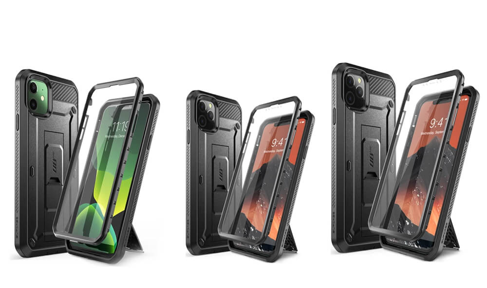 UB Pro Series Protective Rugged Cases for iPhone 11 Pro Max, 11 Pro, and iPhone 11