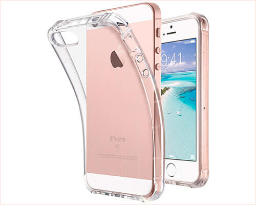 ULAK iPhone SE and iPhone 5s Clear Case