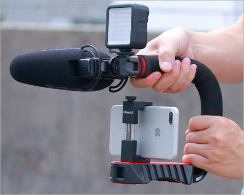 ULANZI Stabilizing Handle Grip for iPhone 11, 11 Pro and 11 Pro Max