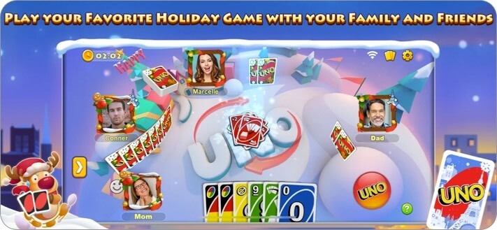 UNO iPhone and iPad Game Screenshot