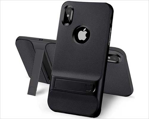 USAcases Kickstand Case for iPhone X