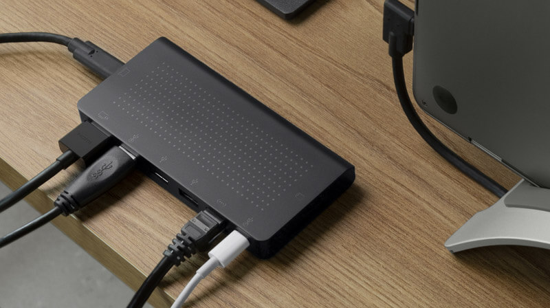USB-C Hub for Type C MacBooks, Laptops and iPad Pro