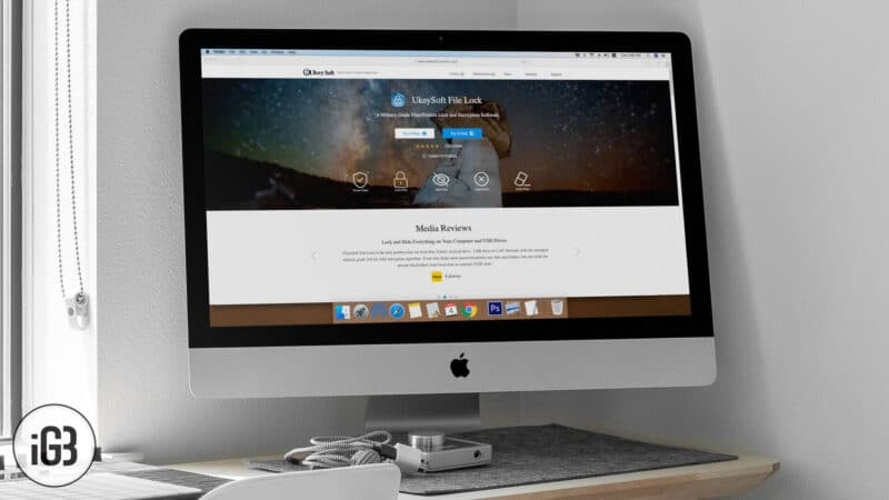 UkeySoft File Lock for Mac and Windows