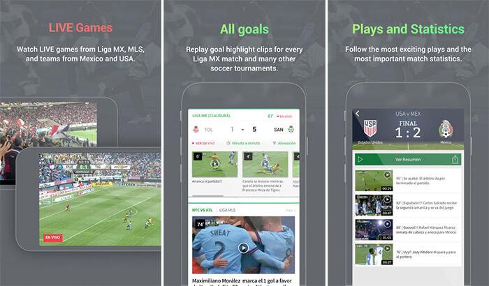 Univision Deportes iPhone and iPad FIFA App Screenshot