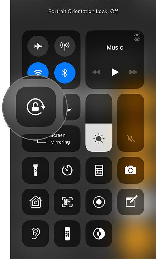 Unlock Screen Orientation to Use Scientific Calculator on iPhone