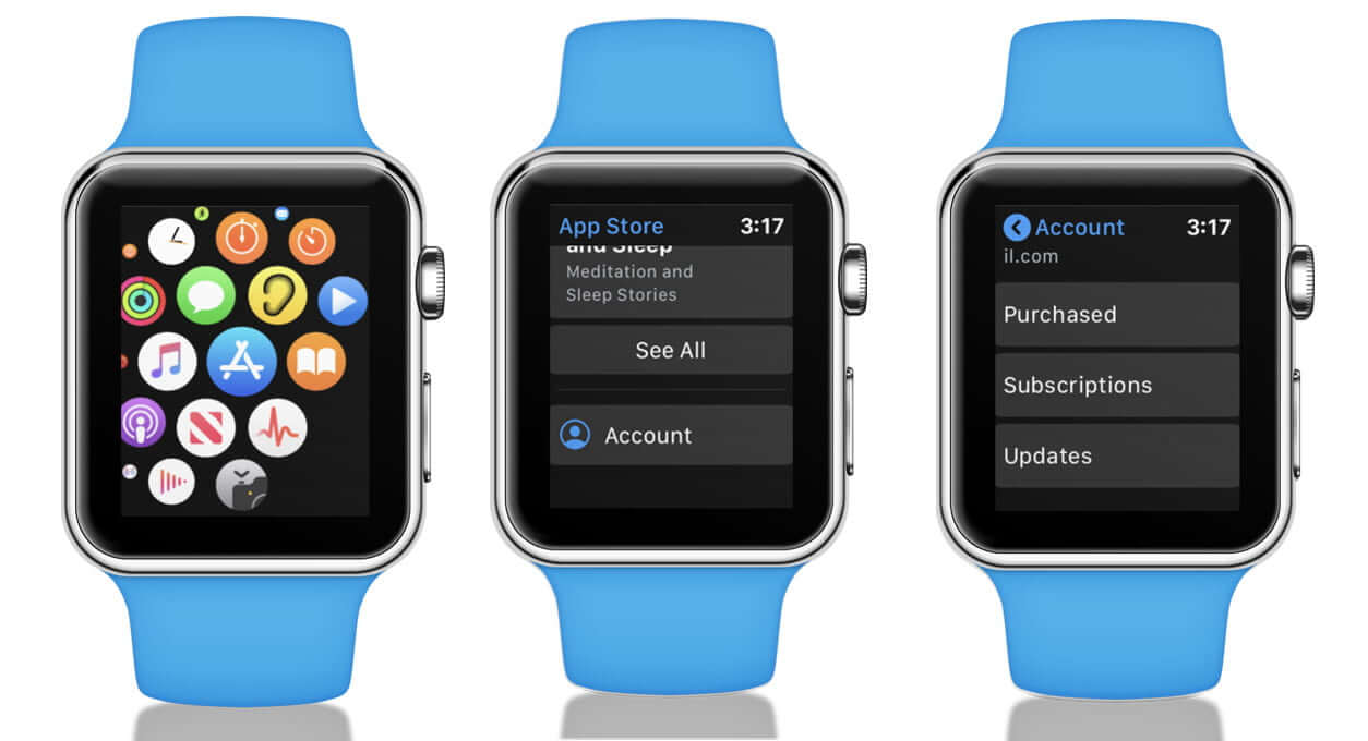 Update Apps Direct from Apple Watch App Store