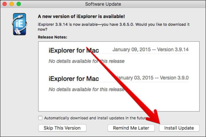 Update Non App Store App on Mac in macOS Sierra