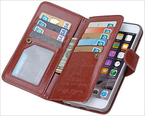 Urvoix iPhone 6-6s Plus Wallet Case