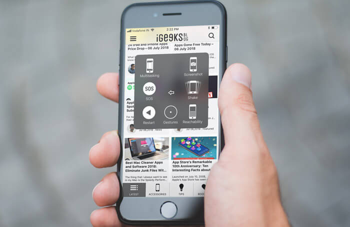 Use AssistiveTouch to Take Screenshots on iPhone