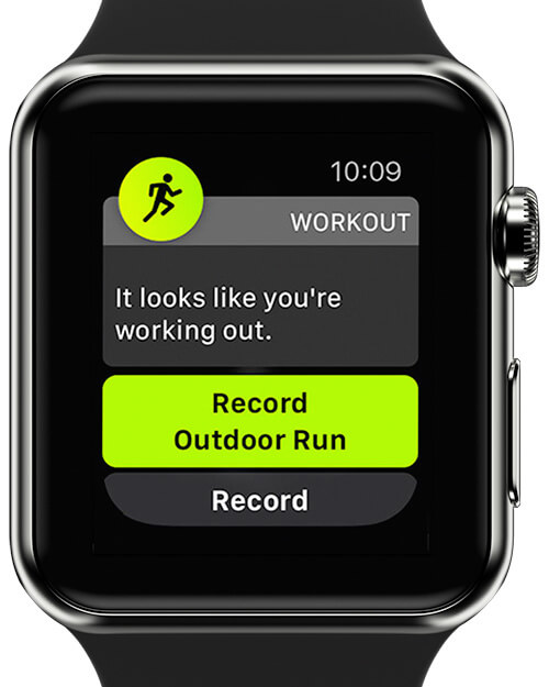 Use Auto-Workout Detection on Apple Watch
