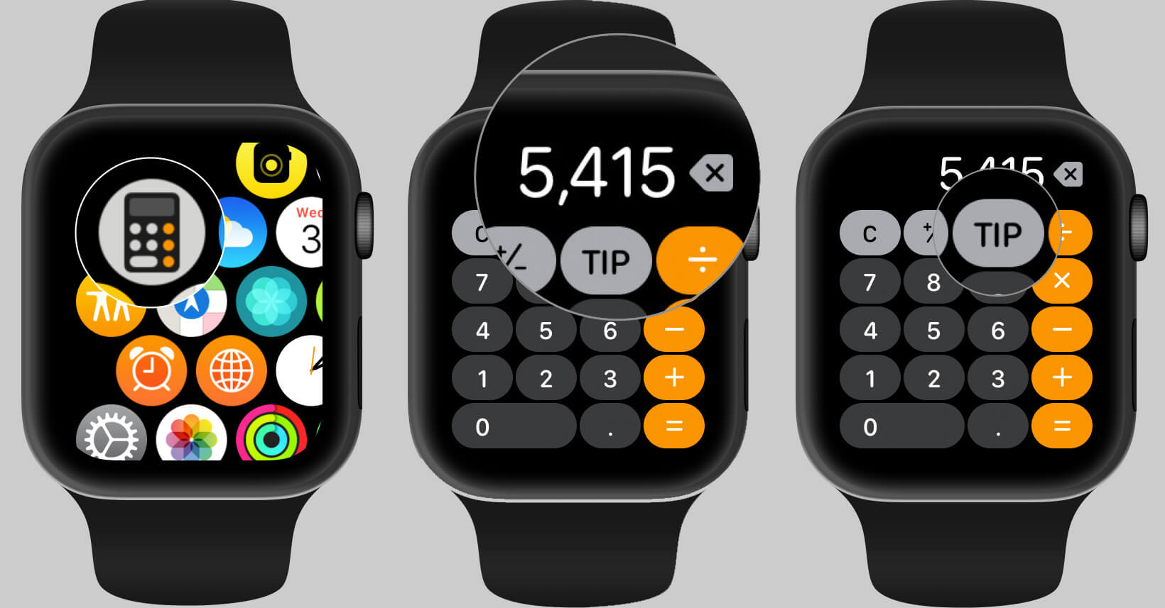 Use Calculator App on Apple Watch in watchOS 6
