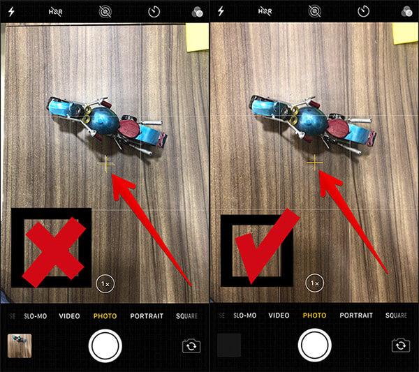 Use Camera Level Tool on iPhone and iPad