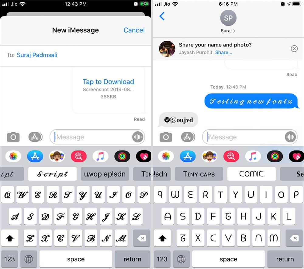 Use Custom Fonts in iOS 13 on iPhone or iPad
