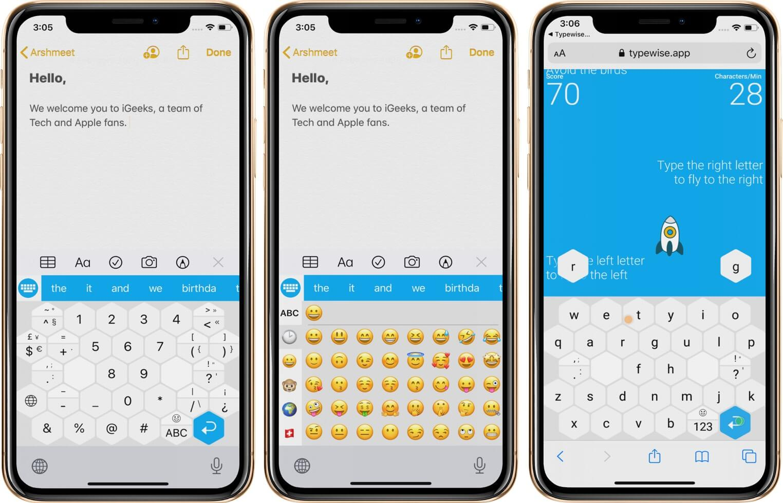 Use Different Keyboards in Typewise Keyboard App on iPhone