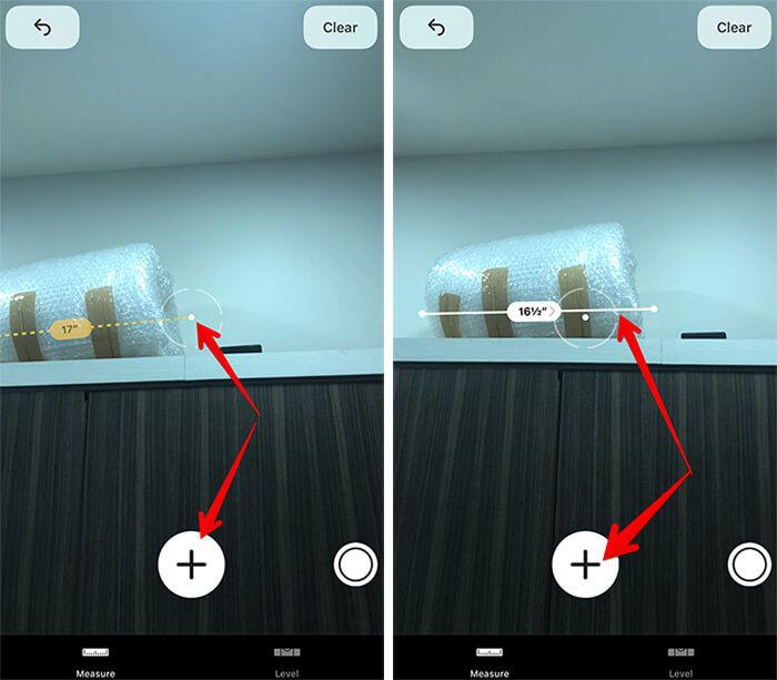 Use Measure App on iPhone