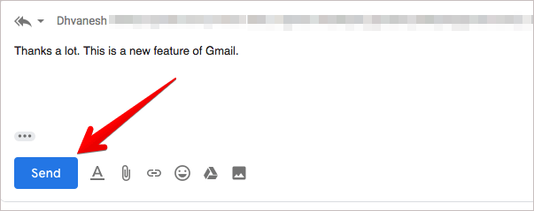 Use Smart Reply in Gmail on Computer