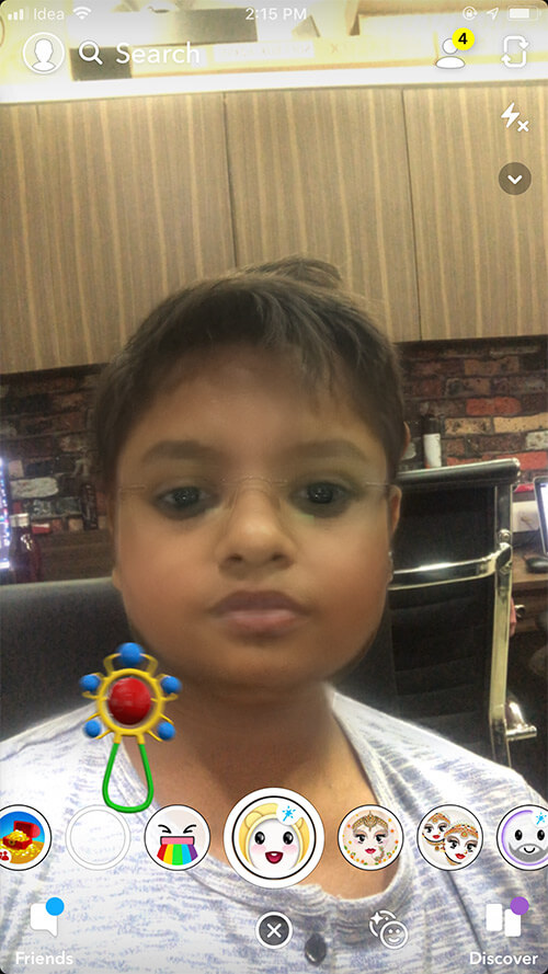 Use Snapchat Baby Filter on iPhone or Android