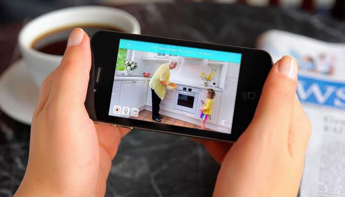 Use iPhone As CCTV Camera