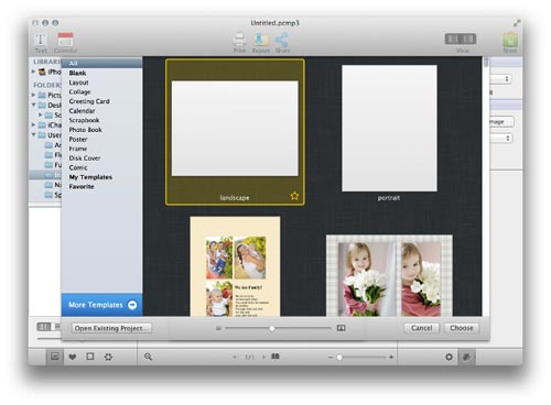 Using Picture Collage Maker 3 for Mac