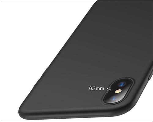 VANMASS iPhone X Thin Case