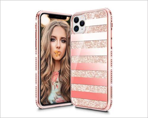 VEGO Diamond Bumper iPhone 11 Pro Case for Girls