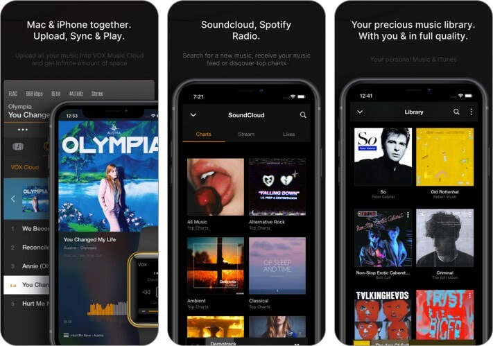 VOX iphone music app alternative