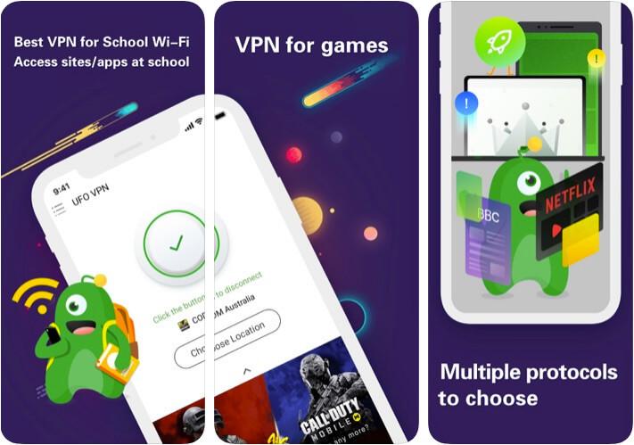 VPN - UFO VPN Hotspot iPhone and iPad App Screenshot