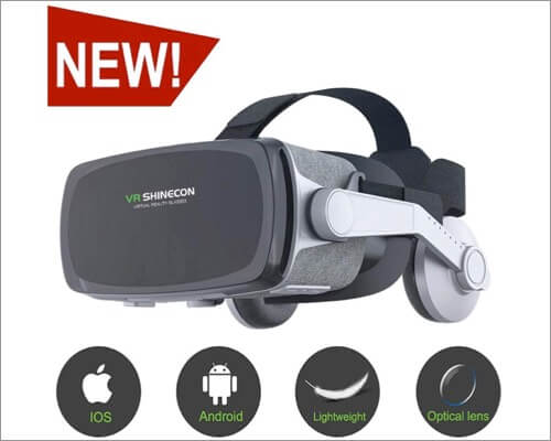 VR SHINECON Virtual Reality Headset for iPhone SE 2020