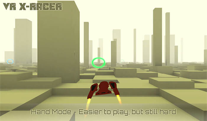 VR XRacer iPhone and iPad VR Game Screenshot