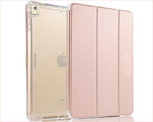 Valkit Transparent Folio Case for 2019 iPad Mini