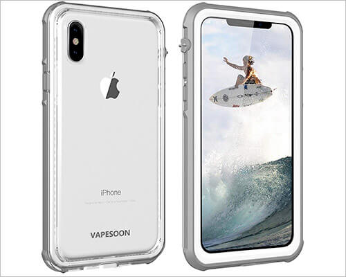 Vapesoon Waterproof Case for iPhone Xs