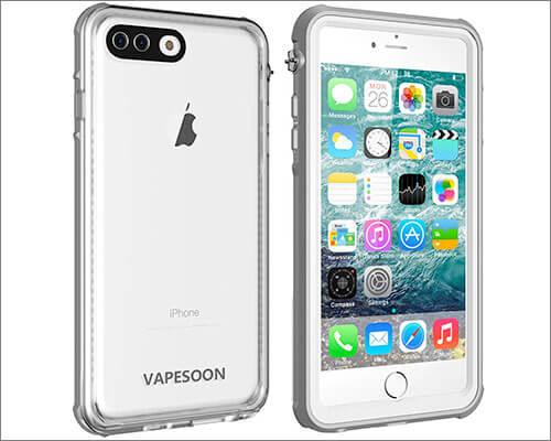 Vapesoon iPhone 8 Plus Waterproof Case