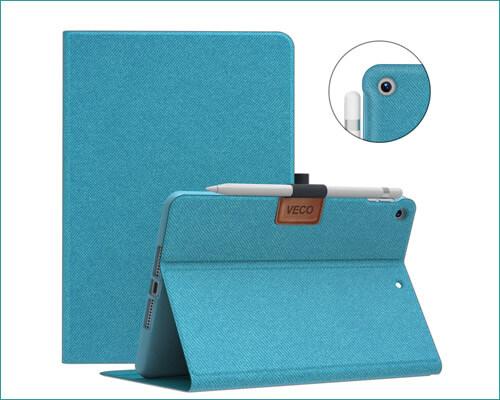 Veco Folio Flip Stand Case for iPad Mini 5