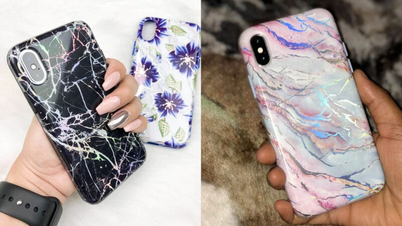 Velvet Caviar iPhone Xs, Xs Max, and XR Cases