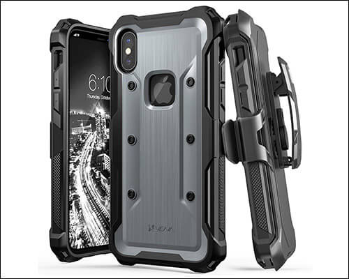 Vena Heavy Duty Belt Clip Case for iPhone Xs