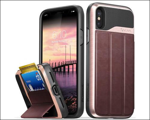 Vena iPhone X, Xs Card Holder Wallet Case