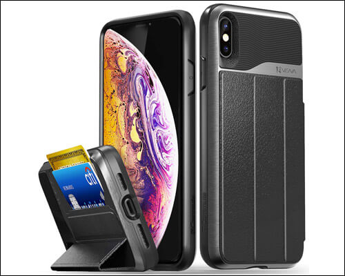 Vena iPhone Xs Max Card Holder Wallet Case