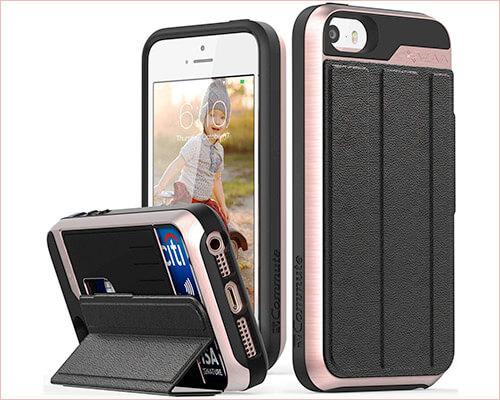 Vena vCommute iPhone SE Kickstand Case