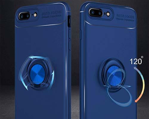 Venoro iPhone 8 Plus Ring Holder Case