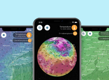 Ventusky 3D Weather Maps iOS App Review