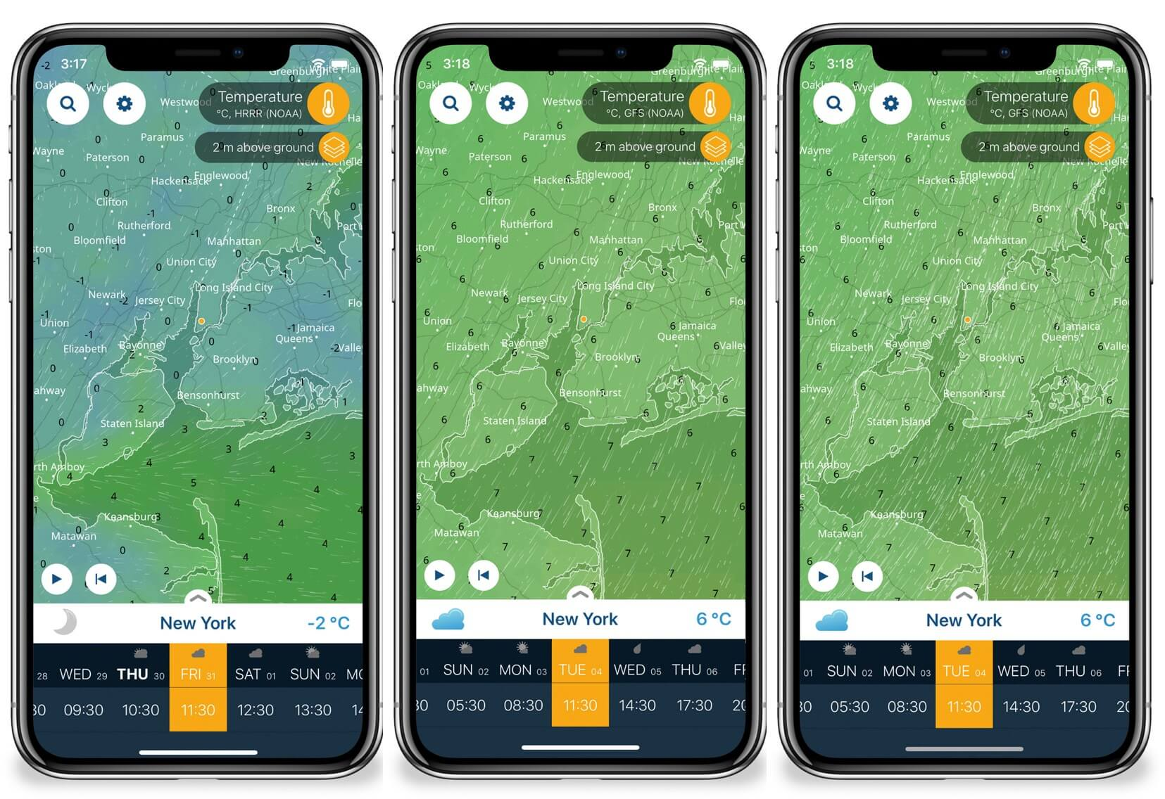 Ventusky iPhone App Give Amazing Wind Animation for Weather