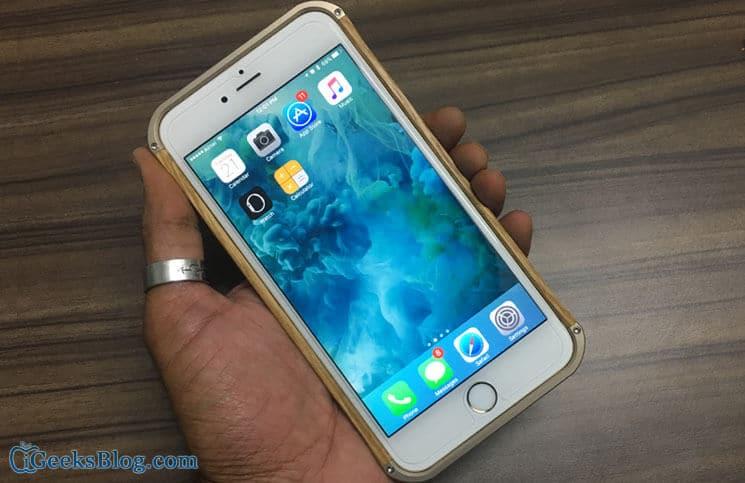 Vesel iPhone 6-6s Plus Wood Series Case