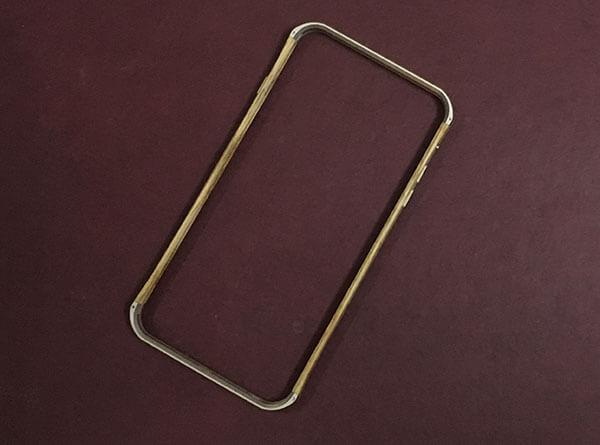 Vesel iPhone 6-6s Plus Wooden Bumper Case