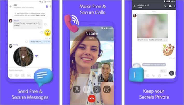 Viber Messenger Android App Screenshot
