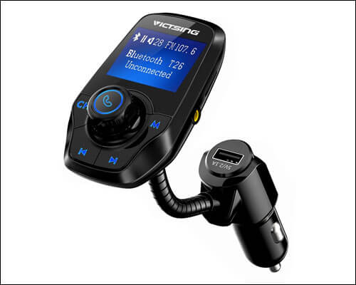 VicTsing Bluetooth FM Transmitter for iPhone 6 and 6 Plus