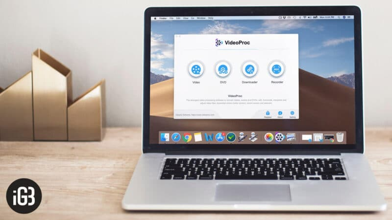 VideoProc 4K Video Processing Software for Mac and Windows