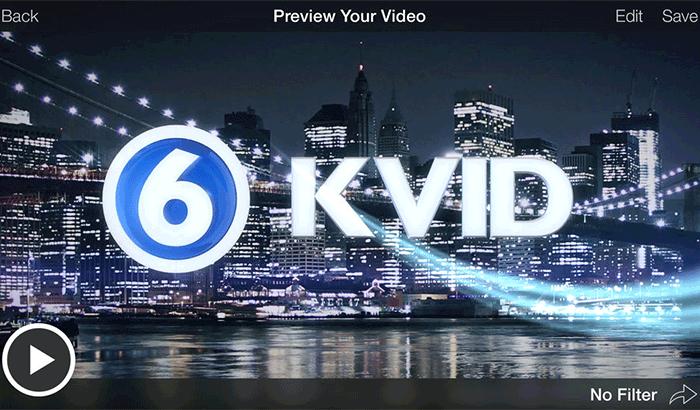Videolicious Movie Maker iPhone App Screenshot